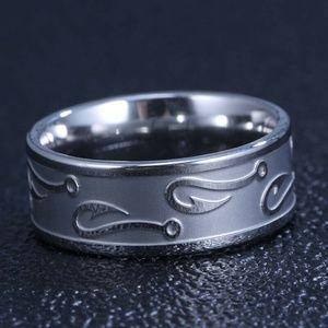 Jewelry - Fisherman's Ring Fishing Hook Silver Ring